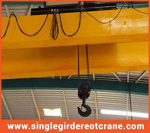 single girder eot crane supplier in india