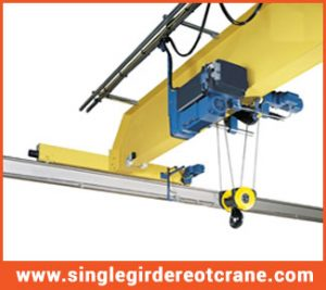Single Girder Electric Overhead Travelling Suppliers and Manufacturing
