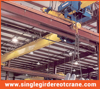 single girder eot crane manufacturers in India