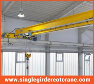 single girder electric overhead travelling cranes manufacture