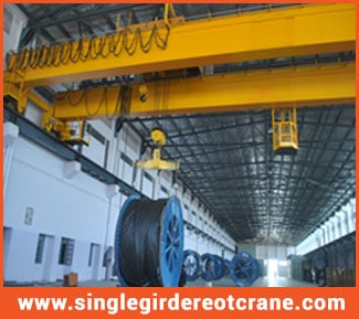 Single girder overhead cranes manufacture
