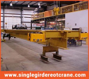 Single Girder Overhead Cranes manufacture and supplier