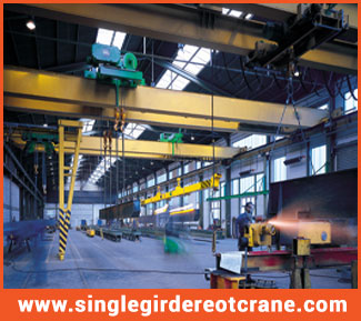 Single Girder Top Running Cranes supplier and manufacturer